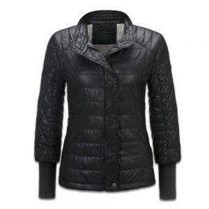 Стеганая женская куртка Audi, Black