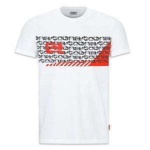 Мужская футболка Audi e-tron, White