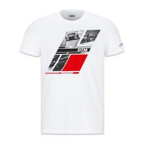 Мужская футболка Audi Sport DTM, White