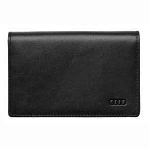 Кожаный футляр для визитных карт Audi