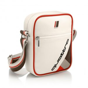 Наплечная сумка унисекс Audi quattro, малая, Heritage