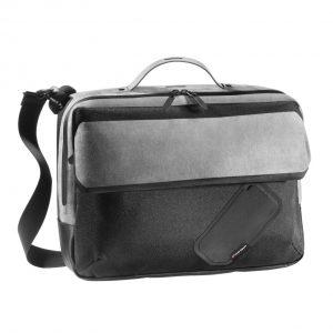 Сумка-рюкзак Audi Sport Alcantara, черно/серая