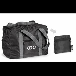 Складная сумка с логотипом Audi, Black
