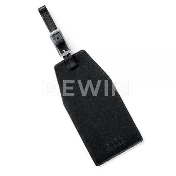Бирка для багажа Audi, Black