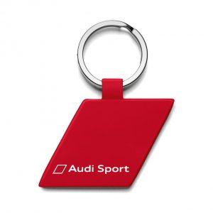 Брелок Audi Sport в форме ромба, Red