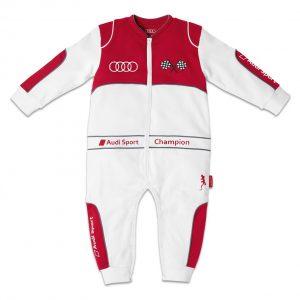 Комбинезон для малышей автогонщиков Audi Sport