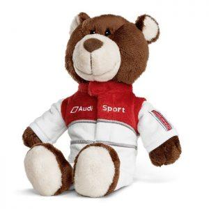 Плюшевый медведь-автогонщик Audi Sport Motorsport