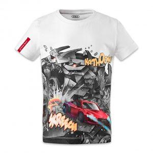 Детская футболка Audi Sport, White