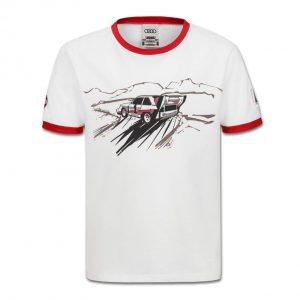 Детская футболка Audi Heritage, White