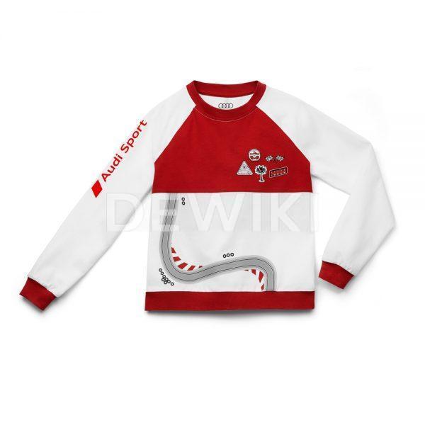 Детская пижама Audi Sport, White / Red