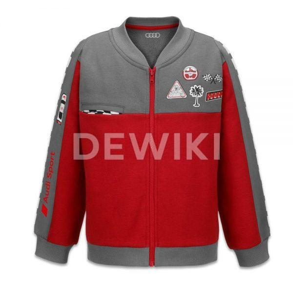 Детская куртка Audi Sport, Grey / Red