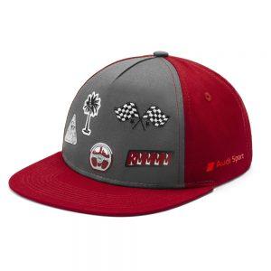Детская бейсболка Audi Sport, Infants, Grey/Red