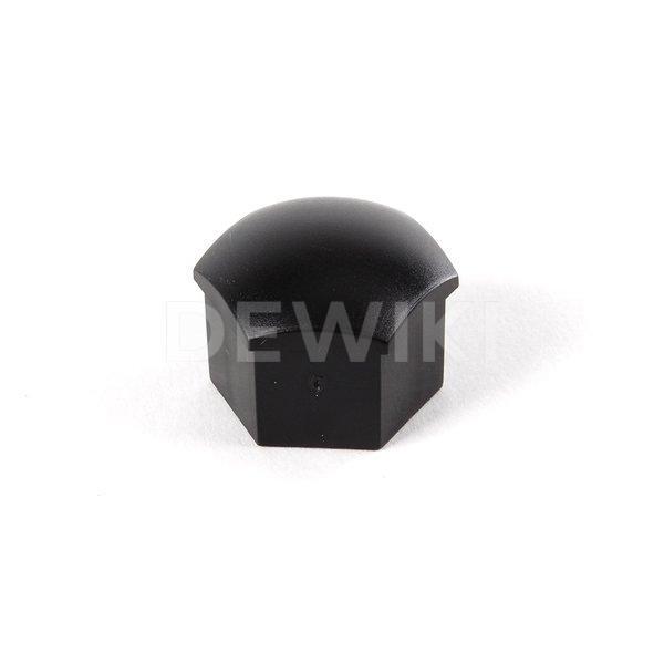 Колпачок болта колесного диска Audi/VW 17 мм, черный