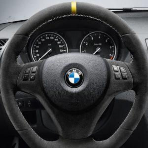 Спортивное рулевое колесо BMW Performance Sportlenkrad II X1, 1 и 3 серия, Алькантара