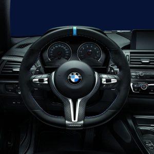Спортивное рулевое колесо BMW M Performance Steering Wheel Pro F80/F82/F83/F87 M2 и M4