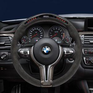 Спортивное рулевое колесо BMW M Performance Steering Wheel Race-Display F87 M2