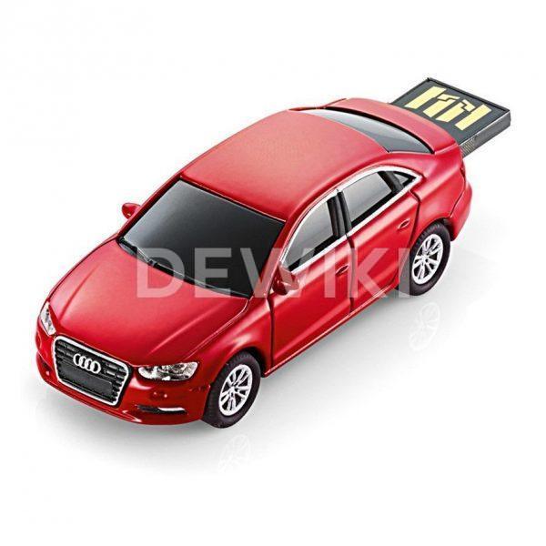 USB-накопитель Audi A3 Limousine, 4 Гб, цвет красный