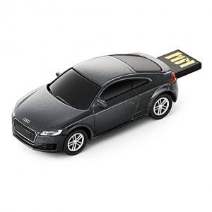 USB-накопитель Audi TT Coupe, 8 Гб, цвет темно-серый