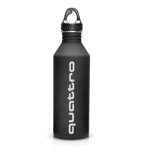 Стальная бутылка для питья Audi Bottle quattro
