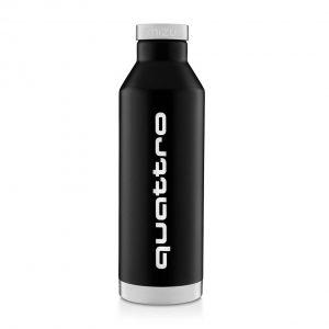 Стальная бутылка Audi quattro