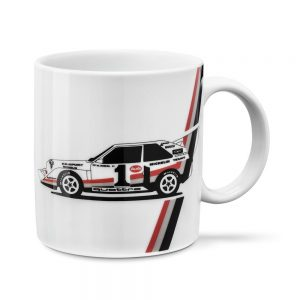 Фарфоровая кружка Audi Heritage, white