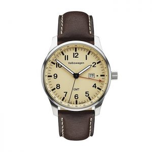 Мужские наручные часы Volkswagen, Mocca-Brown / Cream