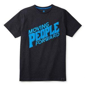 Мужская футболка Volkswagen, Moving People Forward