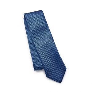 Шелковый галстук Volkswagen, Blue, Dot Pattern