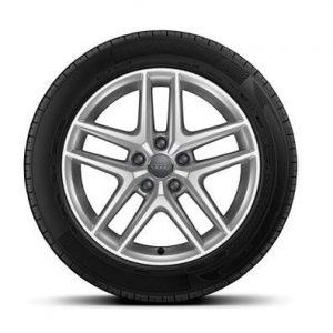 Зимнее колесо в сборе 225/55 R17 97H Michelin Alpin 5 AO Левое