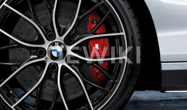 Комплект для дооборудования спортивными тормозами BMW M Performance BMW X5 G05/X6 G06, красный