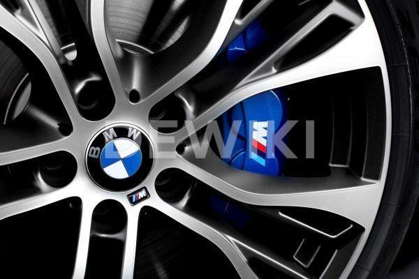 Комплект для дооборудования спортивными тормозами BMW M Performance F15/F16 X5 и X6, синий