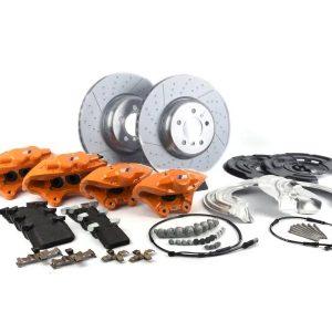 Комплект для дооборудования спортивными тормозами BMW M Performance F20/F22/F30/F32, оранжевый
