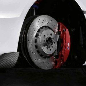 Комплект для дооборудования спортивными тормозами BMW M Performance M2 F87, красный