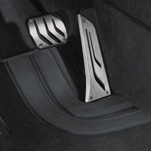 Комплект накладок на педали из нержавеющей стали BMW M Performance для автомобилей с АКПП