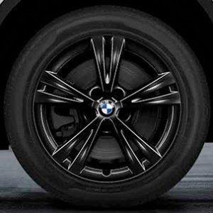 Диск литой R17 BMW F48/F49, DOUBLE SPOKE 385 Black, 7,5J x 17 ET52