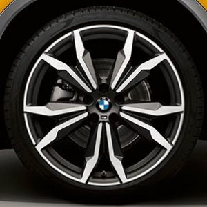 Диск литой R20 BMW F48/F49, DOUBLE SPOKE 717M, 8,0J x 20 ET50