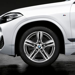 Зимнее колесо R18 BMW F48/F49, Double Spoke 570M, Pirelli Winter Sottozero 3 RunFlat