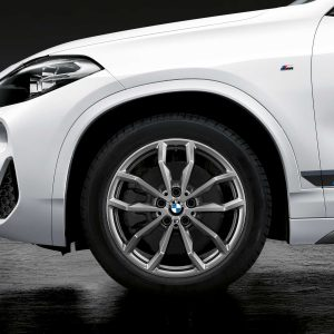 Зимнее колесо R18 BMW F48/F49, Y-Spoke 711M Performance, Continental Winter Contact TS830P