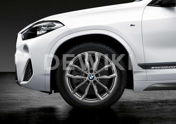 Зимнее колесо R18 BMW F48/F49, Y-Spoke 711M Performance, Continental Winter Contact TS830P