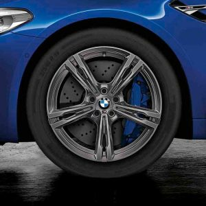 Зимнее колесо R19 BMW F90, DOUBLE SPOKE 705M, Michelin Pilot Alpin 5 RunFlat