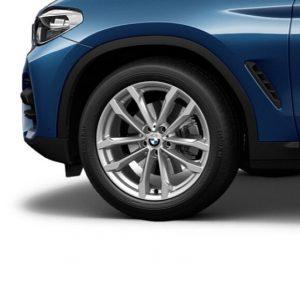 Зимнее колесо R19 BMW G01/G02, V-SPOKE 691, Pirelli Winter Ice FR