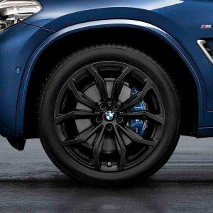 Зимнее колесо R20 BMW G01/G02, Y-SPOKE 695, Pirelli Scorpion Ice+Snow
