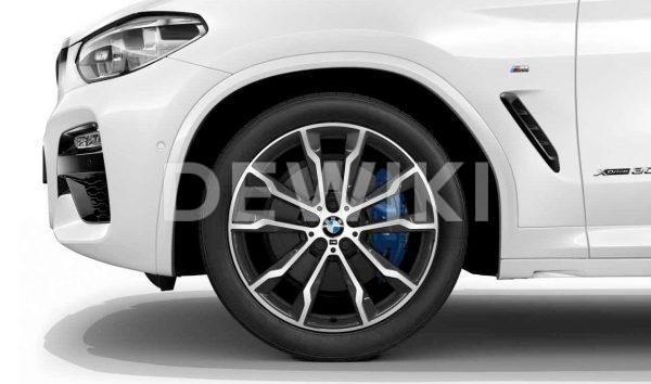 Зимнее колесо R20 BMW G01/G02, DOUBLE SPOKE 699M, Pirelli Scorpion Ice+Snow