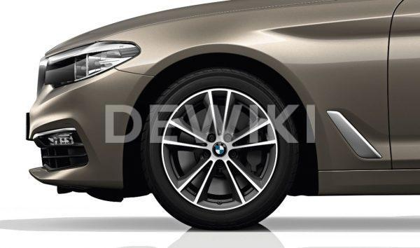 Зимнее колесо R17 BMW G30/G31, V-spoke 631, Dunlop SP Winter Sport 4D