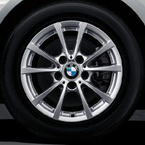 Зимнее колесо R16 BMW F30/F31/F32/F33/F36, V-SPOKE 390, Continental Winter Contact TS830P RunFlat