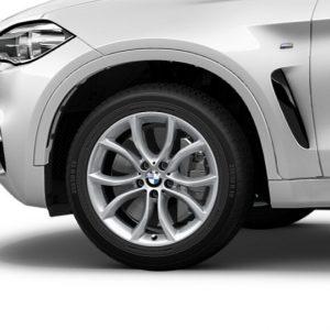 Зимнее колесо R19 BMW F16, V-SPOKE 594, Michelin Latitude Alpin 2  ZP RunFlat ЗО
