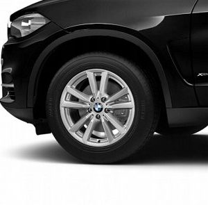 Зимнее колесо R18 BMW F15, Double Spoke 446, Pirelli Scorpion Winter RunFlat