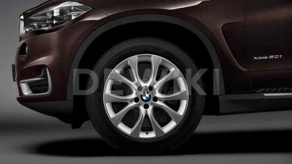 Зимнее колесо R19 BMW F15, V-Spoke 450, Pirelli Scorpion Winter RunFlat