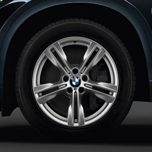Зимнее колесо R19 BMW F15, DOUBLE SPOKE 467M, Michelin Latitude Alpin 2 RunFlat