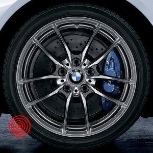Зимнее колесо BMW  F80/F82, V-SPOKE 640M, Continental Winter Contact TS830P ПО